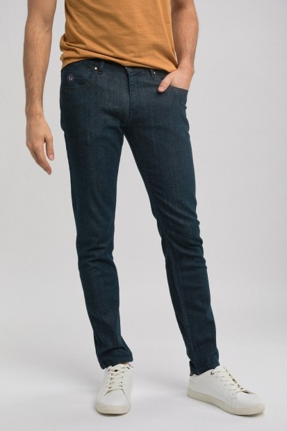 jeans coupe straight fit pour homme