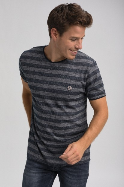 tshirt marin pour homme
