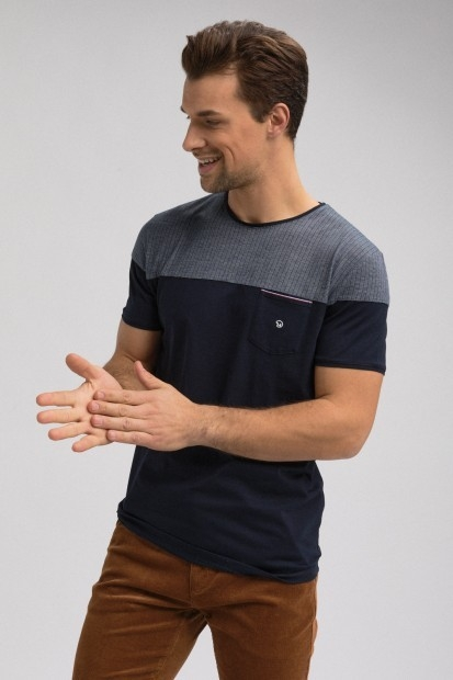 T-shirt colorblock THEDERL
