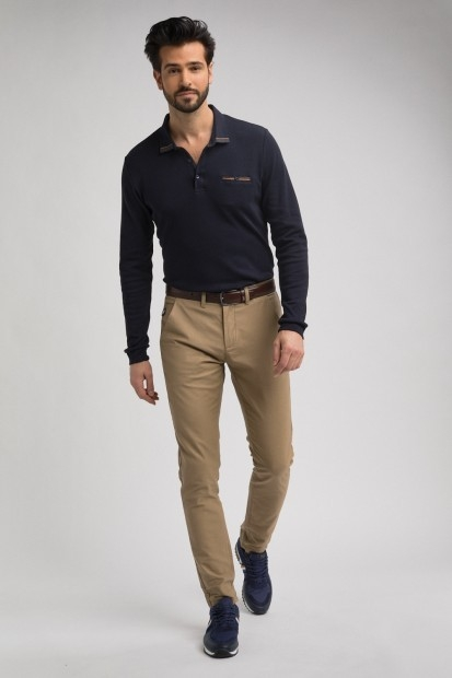 look homme polo hiver