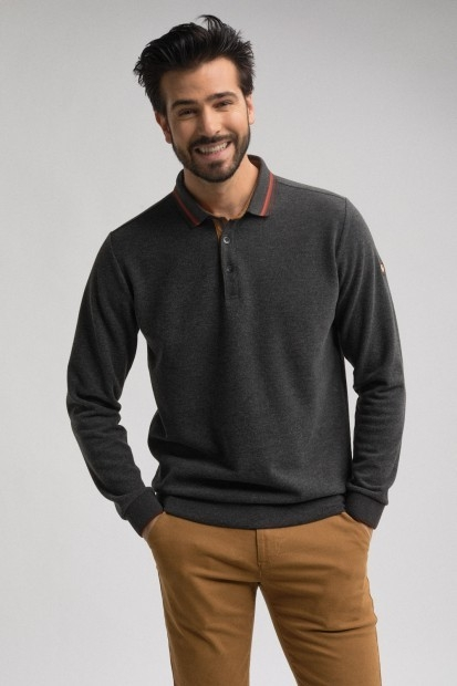 sweat anthra pour homme manches longues